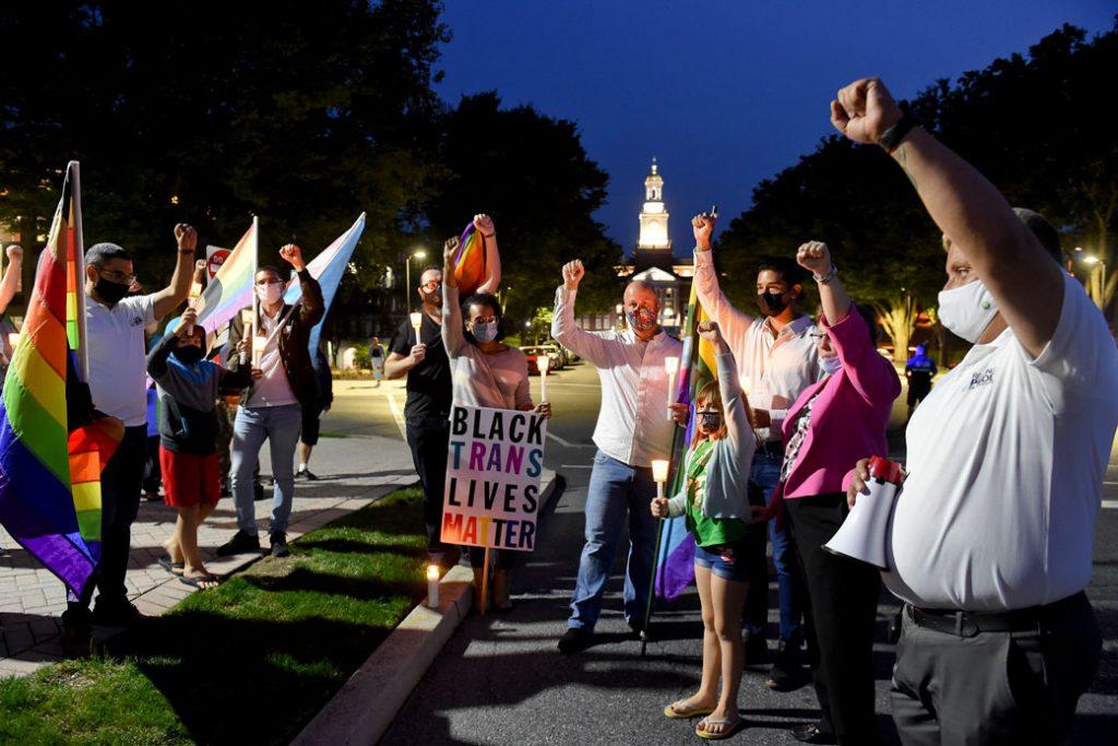 People celebrate pride in Pennsylvania