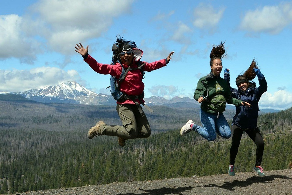 Friends using annual pass to National State Parks