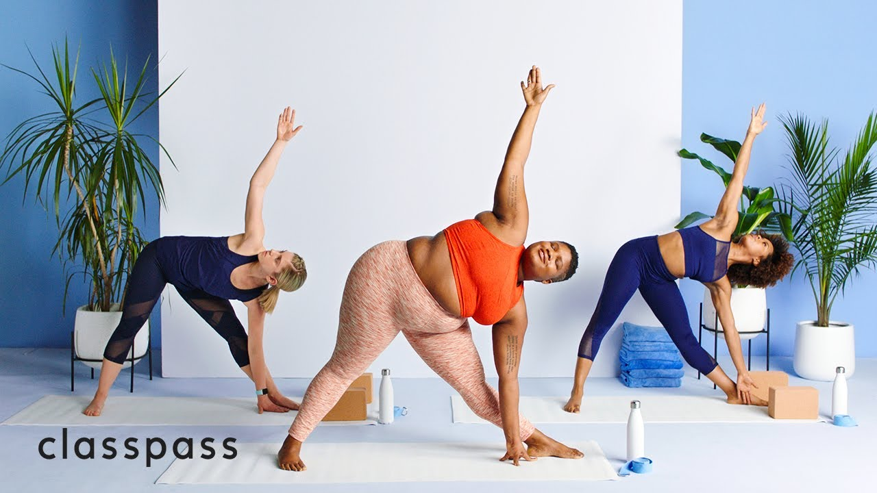 Workout classes with ClassPass